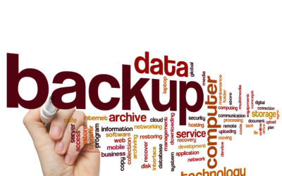 Are you Backing up?