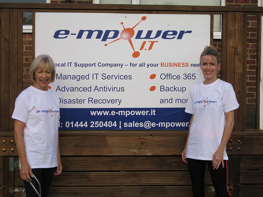 E-mpower.IT Support Girl Power at BHRFC