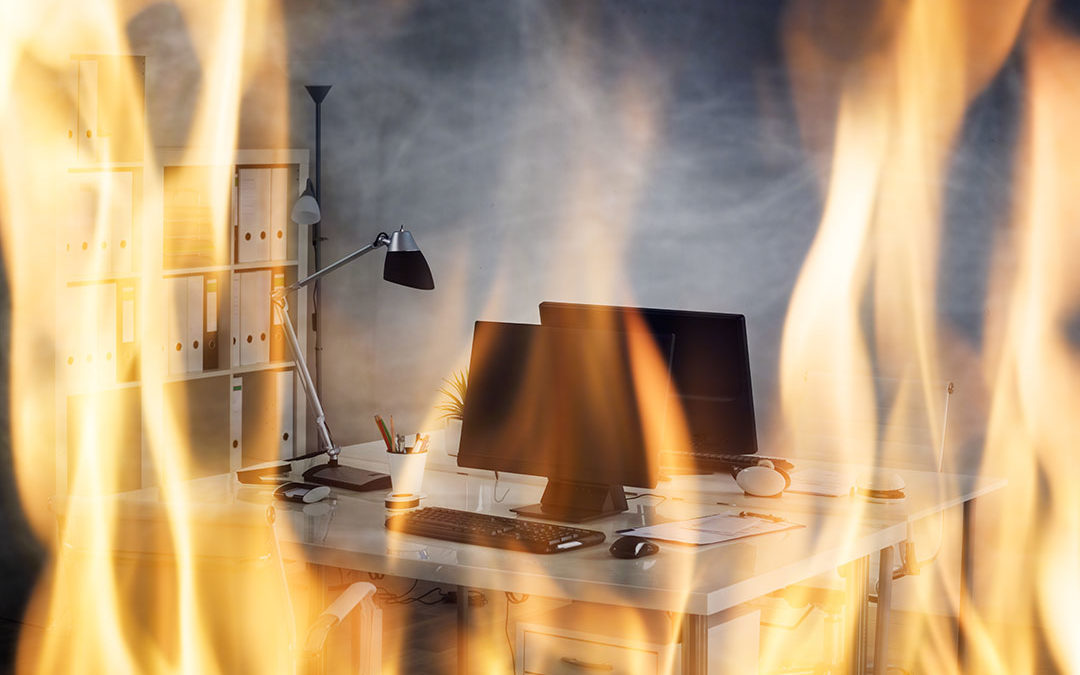 Office Fires – Protect Your Business this Christmas